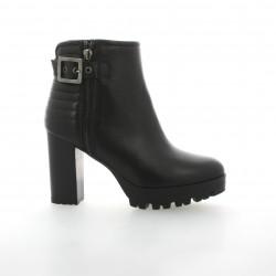 Mally Boots cuir noir
