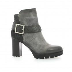 Life Boots cuir nubuck noir