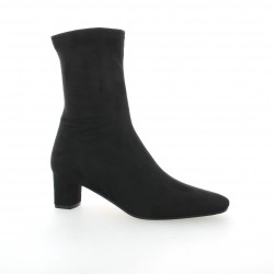 Elizabeth stuart Boots cuir velours noir