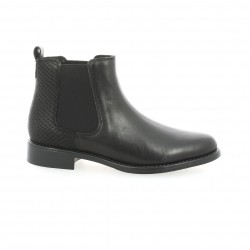 We do Boots cuir python noir