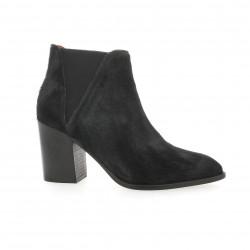 Elizabeth stuart Boots cuir poulain noir