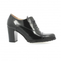 Paco valiente Boots cuir noir