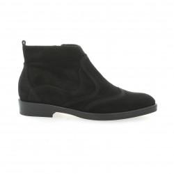 Donna piu Boots cuir velours noir