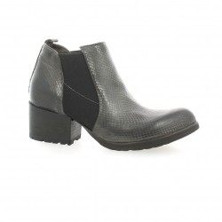 Volpato benito Boots cuir python marron