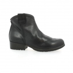 Volpato benito Boots cuir python noir