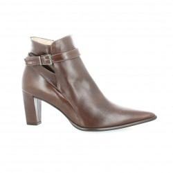 Brenda zaro Boots cuir marron