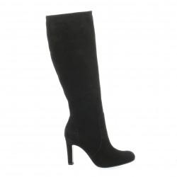 Donna Piu Alifax Bottes cuir velours noir