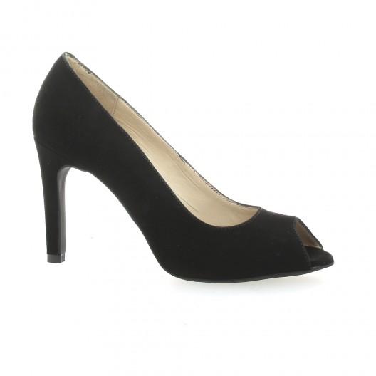 af4794870bd66 Escarpins cuir velours noir Vidi Studio chaussures Jenyfer
