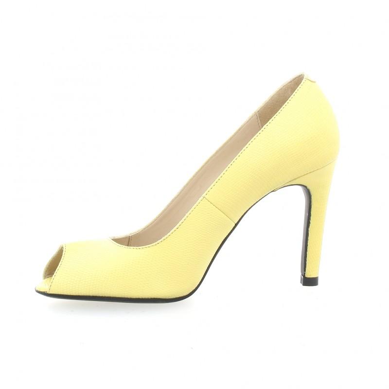 Vidi Studio Chaussures escarpins Nu pieds cuir serpent Vidi Studio soldes 1kRX3