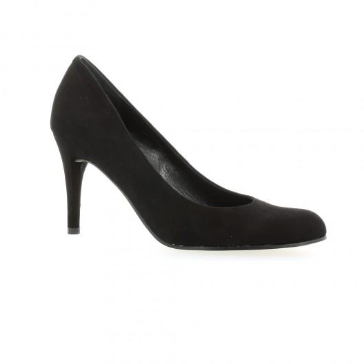 087faa3916af escarpins elizabeth stuart cuir velours noir modele cither