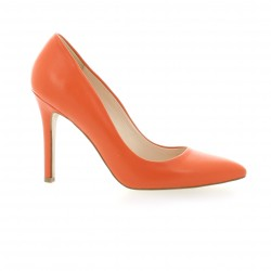 Fremilu Escarpins cuir orange