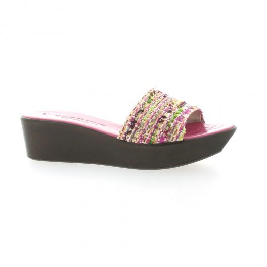 Elizabeth Stuart Mules fushia Fushia - Chaussures Mules Femme