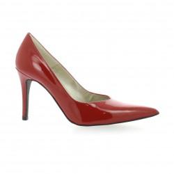 Brenda zaro Escarpins cuir vernis rouge