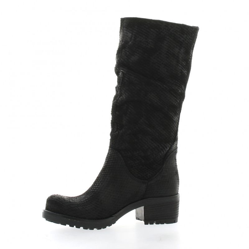 Pao Bottines Boots cuir python