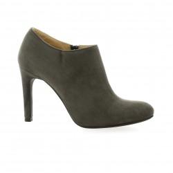 Vidi studio Boots cuir velours gris
