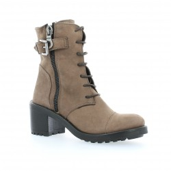 Boots cuir nubuck tdm Pao