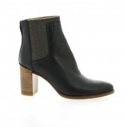 Minka design Boots cuir noir