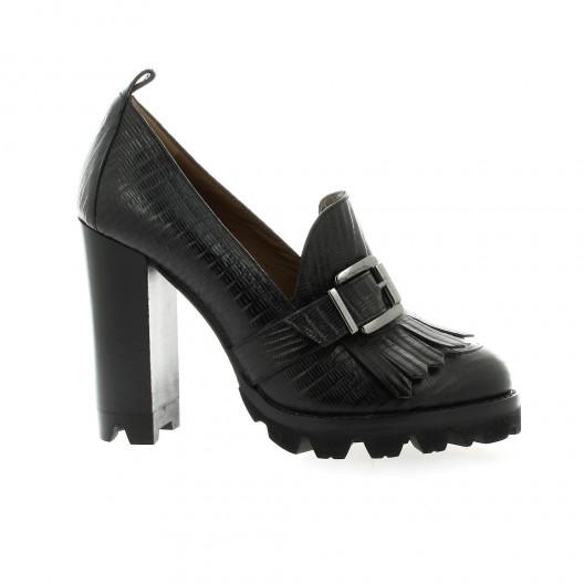 Essedonna Boots Boots cuir serpent Recommander Rabais jFQeYgeW