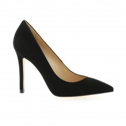 Essedonna Escarpins cuir velours noir