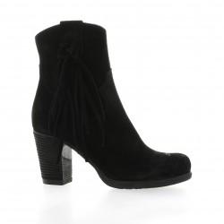 Life Boots cuir velours noir