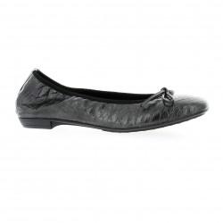 Elizabeth stuart Ballerines cuir croco noir