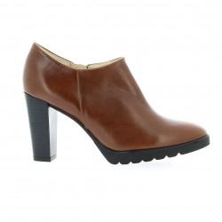 Exit Low boots cuir cognac