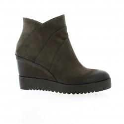 Donna piu Boots cuir nubuck anthracite