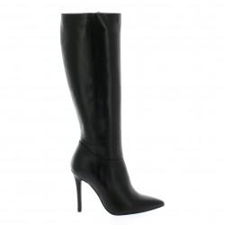 Essedonna Bottes cuir noir