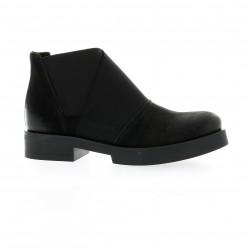Nuova riviera Boots cuir nubuck noir