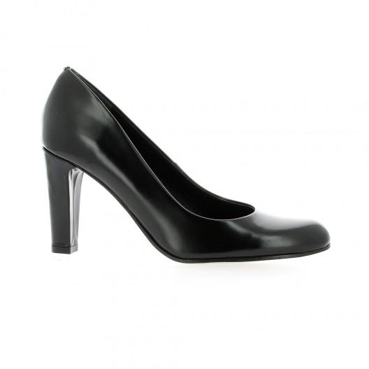 Elizabeth Stuart Escarpins cuir glacé Noir - Chaussures Escarpins Femme