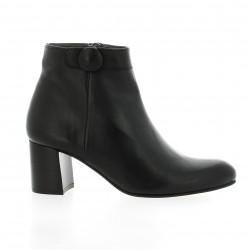 Ambiance Boots cuir noir