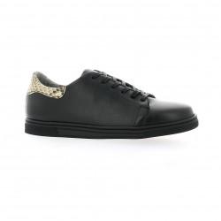 Ambiance Baskets cuir noir
