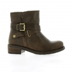 We do Boots cuir marron
