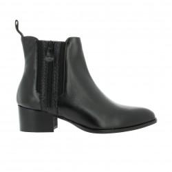 Elizabeth stuart Boots cuir python noir