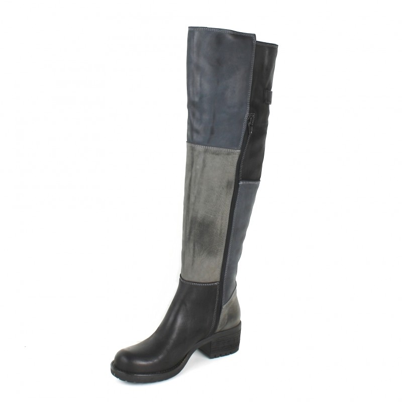 Hugo Hackney-c Pao Bottes Cuissardes cuir Pao soldes  Sneakers Basses Femme  43 EU WbQ9F2Ac