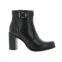 Crasto Boots cuir noir