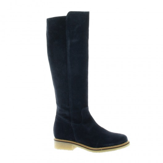 So Send Boots cuir Noir - Chaussures Bottine Femme