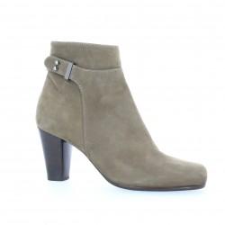 Boots cuir vison Benoite c