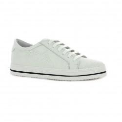 Pao Baskets cuir blanc