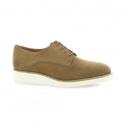 We do Derby cuir velours camel