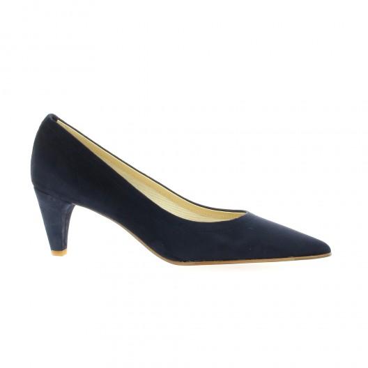 Bleu Elizabeth Stuart Velours Rubio 300 Chaussures Escarpins Cuir wXfqrFXp