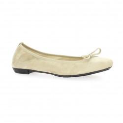 Elizabeth stuart Ballerines cuir velours sable