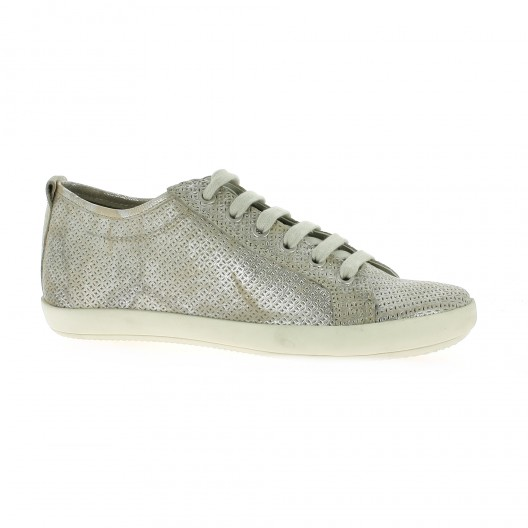 blanc Pao Baskets Cuir laminé Argent - 40 Pao Baskets Cuir laminé Argent - 40 SGQalFK