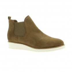 We do Boots cuir velours camel