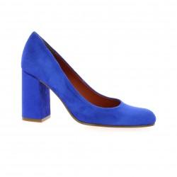 Elizabeth stuart Escarpins cuir velours bleu