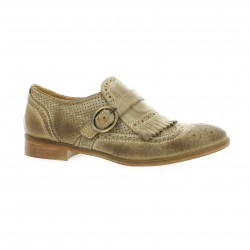 Red creatyve Mocassins cuir taupe