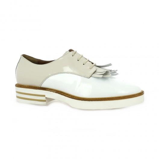 Donna Più Chaussures Derby cuir python Donna Più soldes dBfpbM3