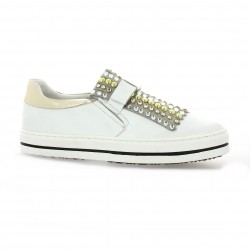 altraofficina Baskets cuir blanc