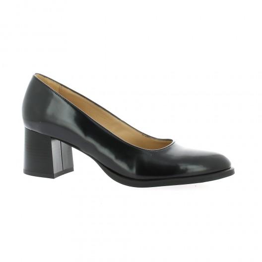 Vidi Studio escarpins cuir glacé Noir - Chaussures Escarpins Femme