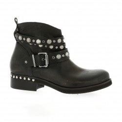 Curiosity Boots cuir marron